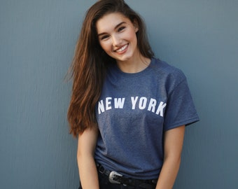 New York tee in short sleeve