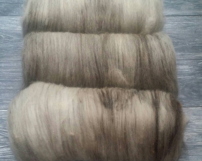 Blended Jacob Wool Batt