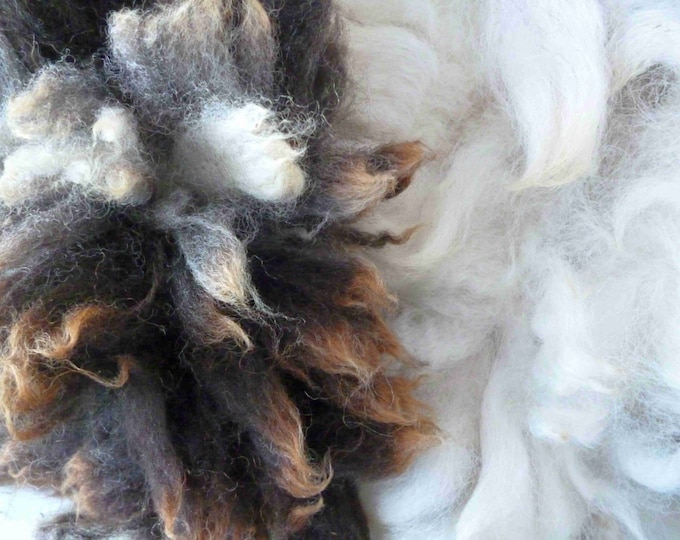Raw Jacob Fleece 100g, 3.5 ounces