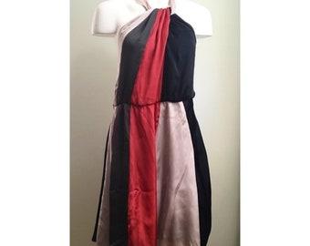 2850b8248 70's halter dress