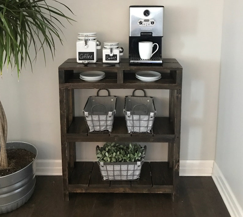 Daisy Coffee Bar Table // Coffee Bar Table // Coffee Station image 0