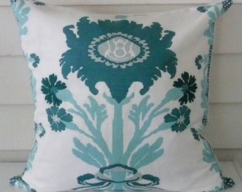 Quadrille Soft Lavender Pina, Pillow