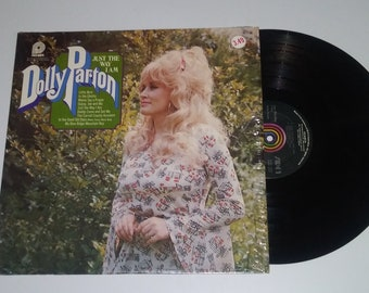 70s Dolly Parton Just The Way I Am vinyl full length LP album record hit pop country shrink wrap Pickwick