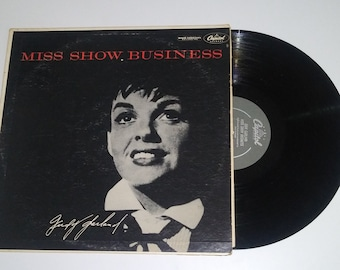 Judy Garland Miss Show Business vinyl Capitol LP Broadway musical album hit diva record Over The Rainbow full length