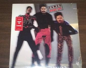 SEALED Cameo Word Up vinyl 80s Atlanta Artists Records smash hit electro soul funk LP album dance New Wave songs  pop rock record Up!
