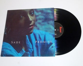 Sade Promise vinyl Portrait Jazz sophisti-pop 80s record r&b Is It a Crime? Never as Good as the First Time Sweetest Taboo LP album