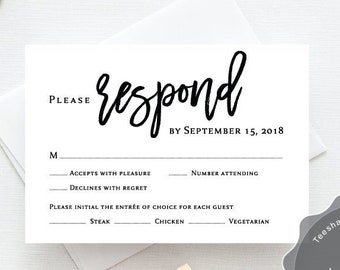rehearsal dinner invitation with rsvp card etsy