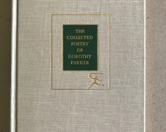 Dorothy Parker The Collected Poetry Modern Library 1936