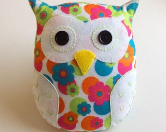 Flora the Owl pdf Sewing Pattern