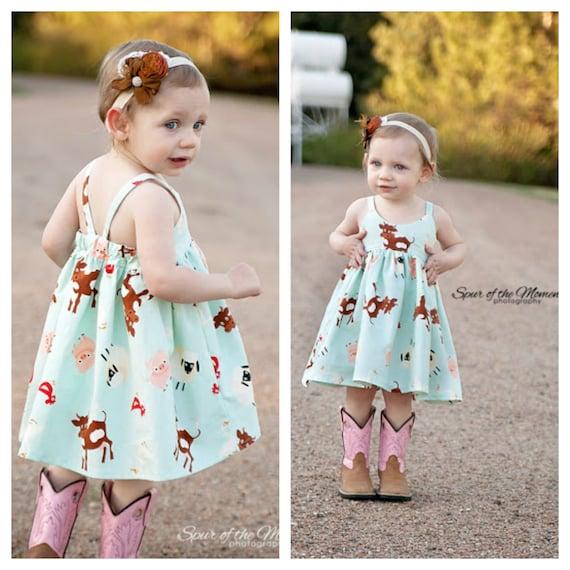 Baby Hummingbird Dress girls' summer dress NB to size | Etsy