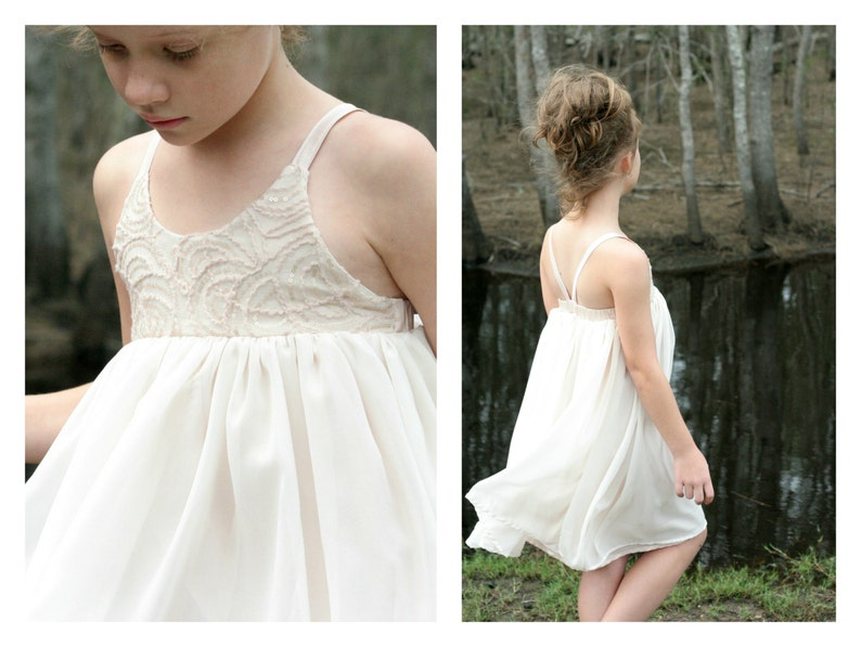 adebe9af87b Hummingbird Dress girls  summer dress PDF pattern