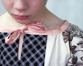 Vintage Tunic girls top pattern - PDF pattern