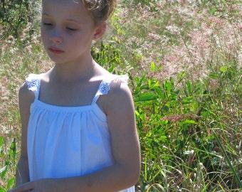 Dreamy dress pattern - Girls' Edition: classic dress or tunic top - PDF pattern