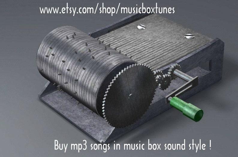 mp3 Kontoúla lemoniá, hand crank music box mp3 Greek traditional tune