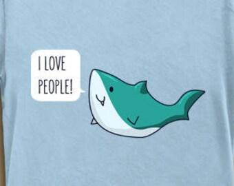 Items similar to Happy Boat - Cute Shirt Kawaii adorable