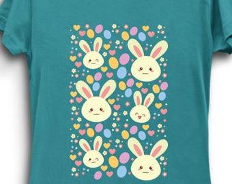 Kawaii Bunny - Bunny Shirt Kawaii Cute Easter Bunny T-Shirt