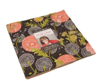 """Dandi-Annie Layer Cake (42 - 10"""" x 10"""" Squares) designed by Robin Pickens for Moda Fabrics"""