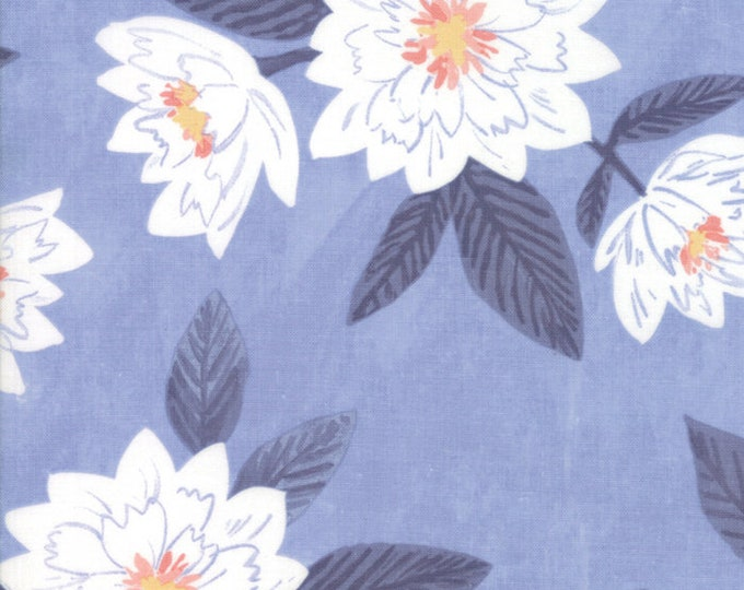 Twilight Floral Sky designed by One Canoe Two for Moda Fabrics, 100% Premium Cotton by the Yard