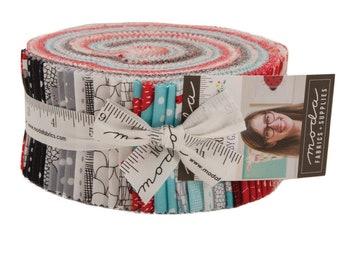 Farm Fresh Jelly Roll (42 - 2 1/2 x WOF Strips) designed by Gingiber for Moda Fabrics