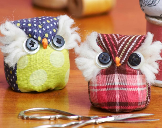 It's a Hoot Pincushion Pattern designed by Sewn into the Fabric...Pieces of our Lives