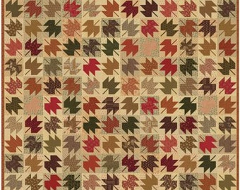 """Fluttering Color Cuts Quilt Kit designed by Moda Fabrics, 78"""" x 78"""""""