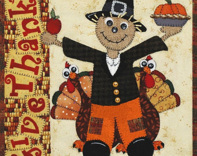 Give Thanks 12 x 12 Quilt Pattern by Desiree's Designs