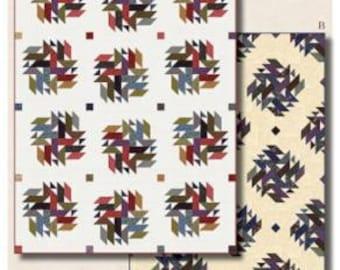 "King's Cross Pattern designed by Doug Leko, A - 62"" x 82"" or B - 57"" x 85"""