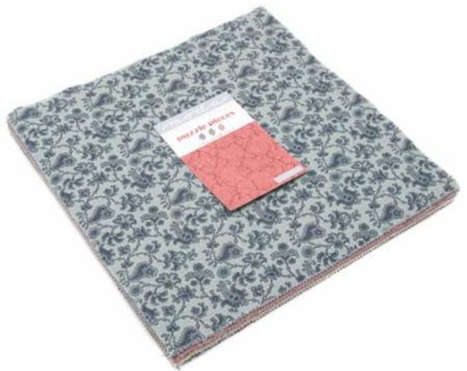 "Puzzle Pieces Layer Cake (42 - 10"" x 10"" squares) designed by Moda Fabrics"