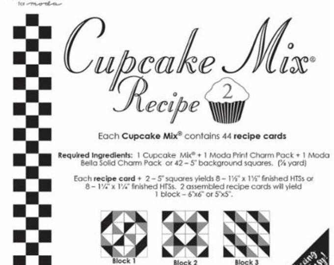 Moda Cupcake Mix Recipe 2, designed by Miss Rosie's Quilt Co. for Moda Fabrics