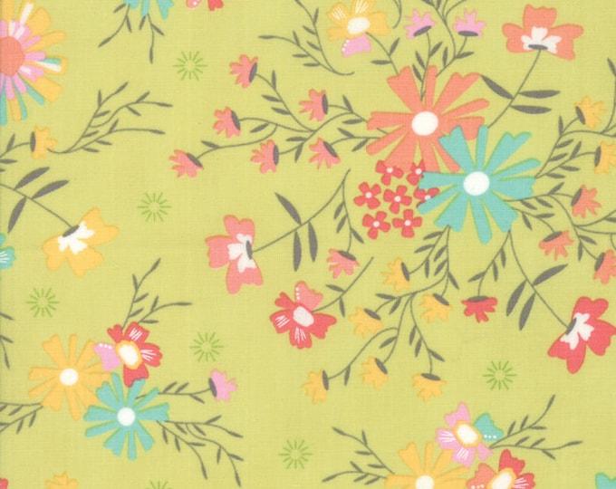 Sunnyside Up Cucumber designed by Corey Yoder for Moda Fabrics, 100% Premium Cotton by the Yard
