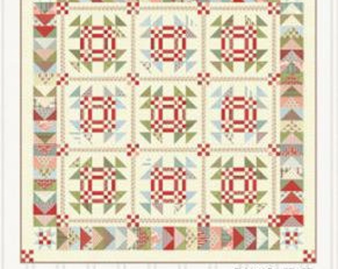 """Snow Goose Pattern designed by Miss Rosie's Quilt Co., Finished size 75"""" x 75"""""""