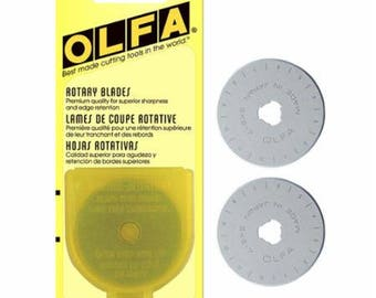 2 45MM Blades for the OLFA Rotary Cutter