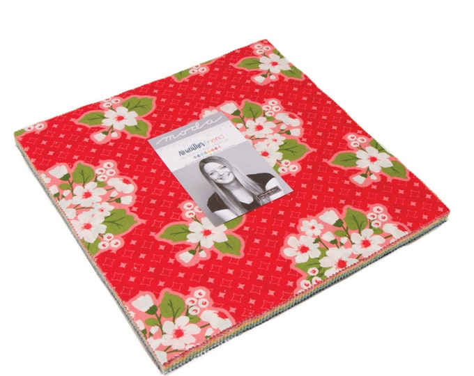 """All Weather Friend Layer Cake (42 - 10"""" x 10"""" Squares) designed by April Rosenthal of Prairie Grass Patterns for Moda Fabrics"""