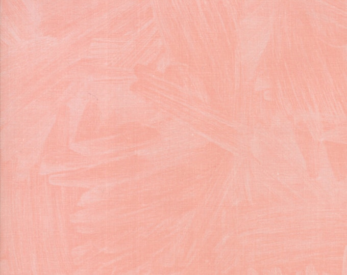 Twilight Watercolor Coral designed by One Canoe Two for Moda Fabrics, 100% Premium Cotton by the Yard
