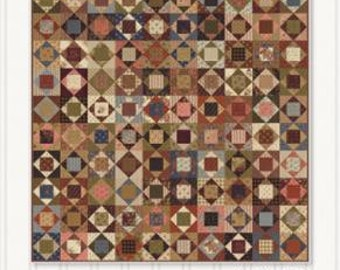 """Comfort Zone Pattern designed by Miss Rosie's Quilt Co. for Moda Fabrics, finished size 60"""" x 70"""""""