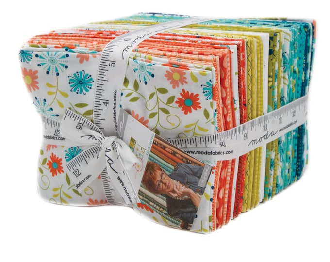 Well Said 34 Fat Quarter Bundle designed by Sandy Gervais for Moda Fabrics,
