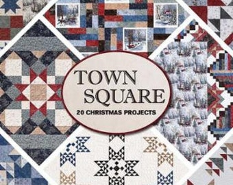 Town Square, 20 Christmas Projects by Doug Leko, Antler Quilt Design