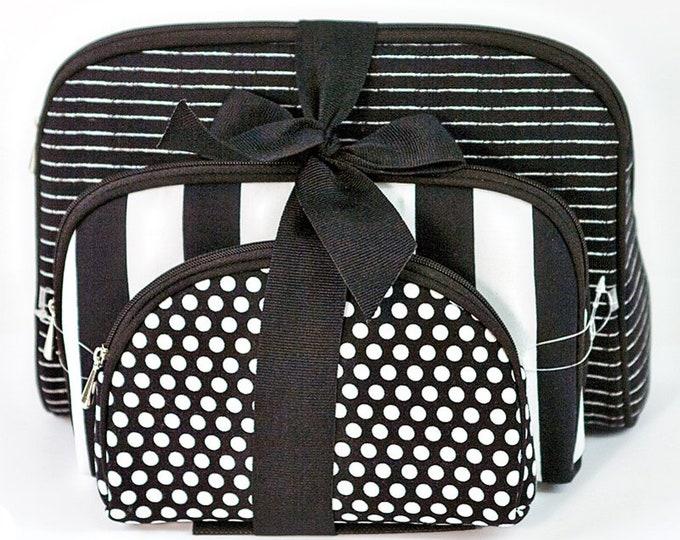 Notion Travel Bag Black/White, 3 bags