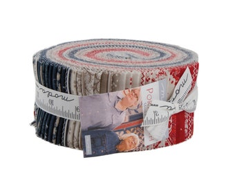 Portsmouth Jelly Roll (42 - 2 1/2 x WOF Strips) designed by Minick & Simpson for Moda Fabrics