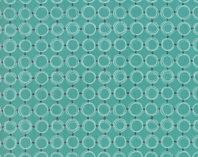 Le Pavot Pond designed by Sandy Gervais for Moda Fabrics, 100% Premium Cotton by the Yard