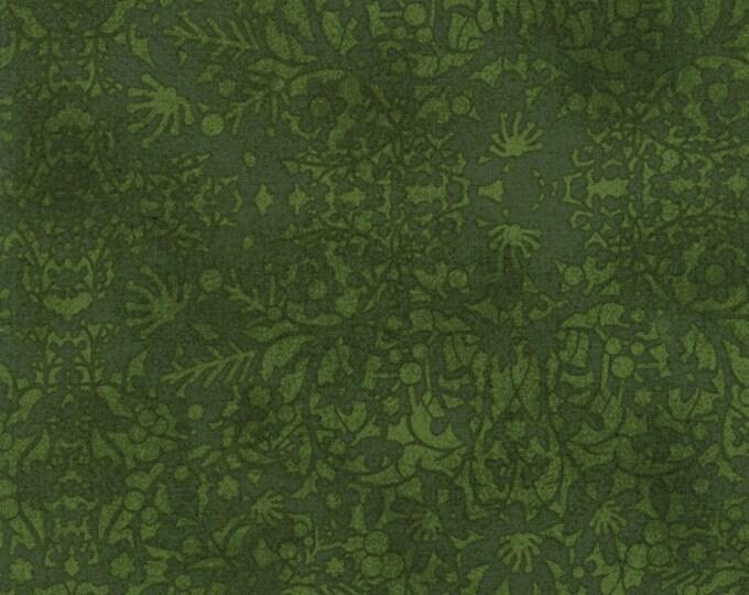 Winter Village Tonal Spruce designed by BasicGrey for Moda Fabrics, 100% Premium Cotton by the Yard