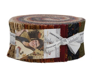 Nature's Glory Jelly Roll (42 - 2 1/2 x WOF Strips) designed by Kansas Troubles Quilters for Moda Fabrics