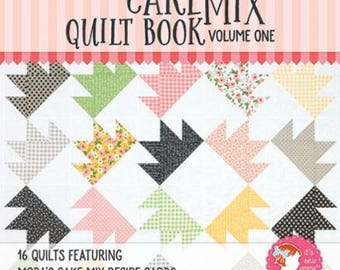 The Cake Mix Quilt Book Volume One, Featuring 16 Quilts, Moda's Cake Mix Recipe Cards