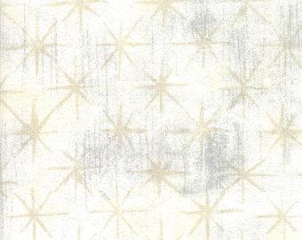 Grunge Seeing Stars Vanilla designed by BasicGrey for Moda Fabrics, 100% Premium Cotton by the Yard