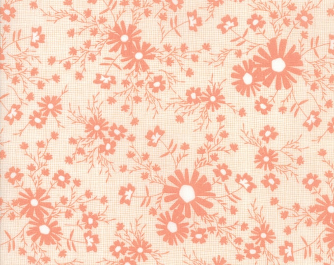 Sunnyside Up Coral designed by Corey Yoder for Moda Fabrics, 100% Premium Cotton by the Yard