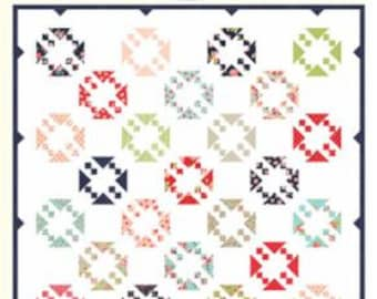 """Smitten Irresistible Pattern designed by Bonnie & Camille for Moda Fabrics, 82"""" x 82"""" when finished"""