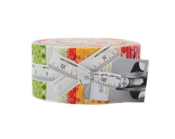 Mama's Cottage Jelly Roll (42 - 2 1/2 x WOF strips) designed by April Rosenthal of Prairie Grass Patterns for Moda Fabrics