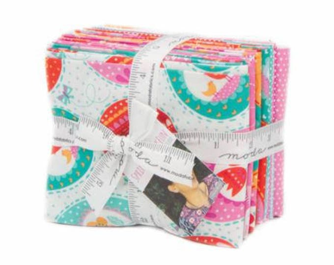 Spring Bunny Fun 14 Fat Quarters designed by Stacy Iest Hsu for Moda Fabrics