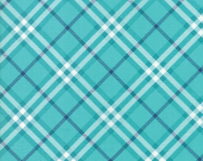 All Weather Friend Creek Plaid designed by April Rosenthal of Prairie Grass Patterns for Moda Fabrics, 100% Premium Cotton by the Yard