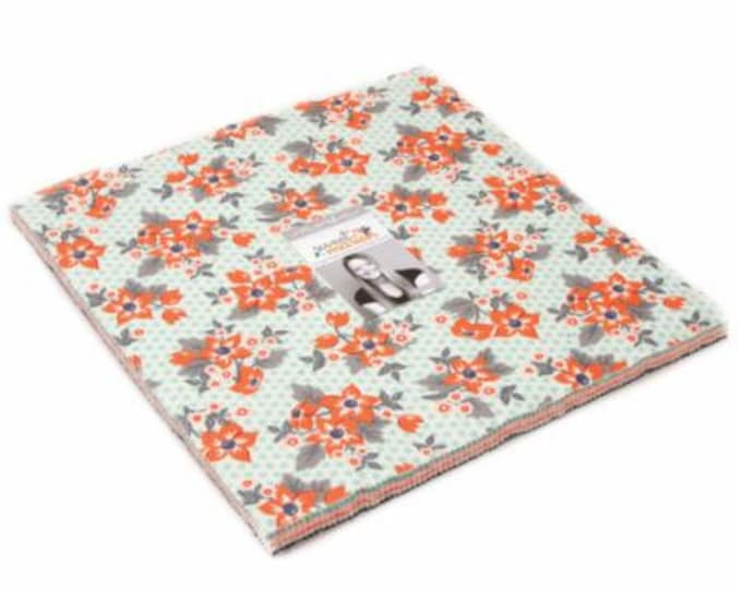 Sweet Marion Layer Cakes (42 - 10 x 10 squares) designed by April Rosenthal for Moda Fabrics